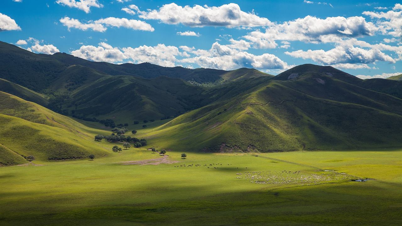 Монгольские горы