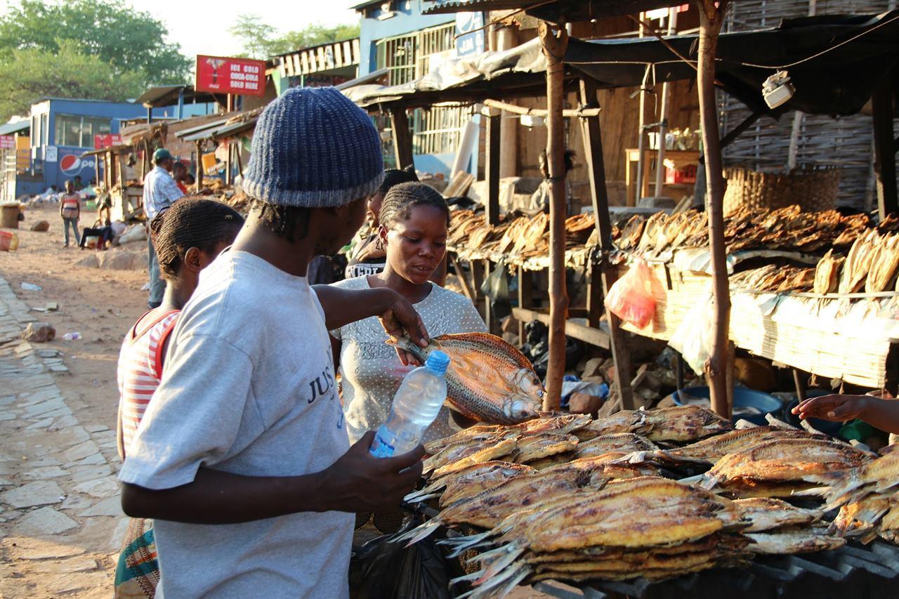 Африканский рынок Конго