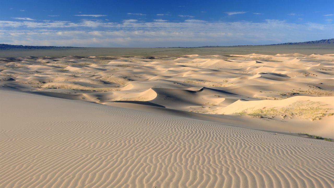 Монгольская пустыня Гоби