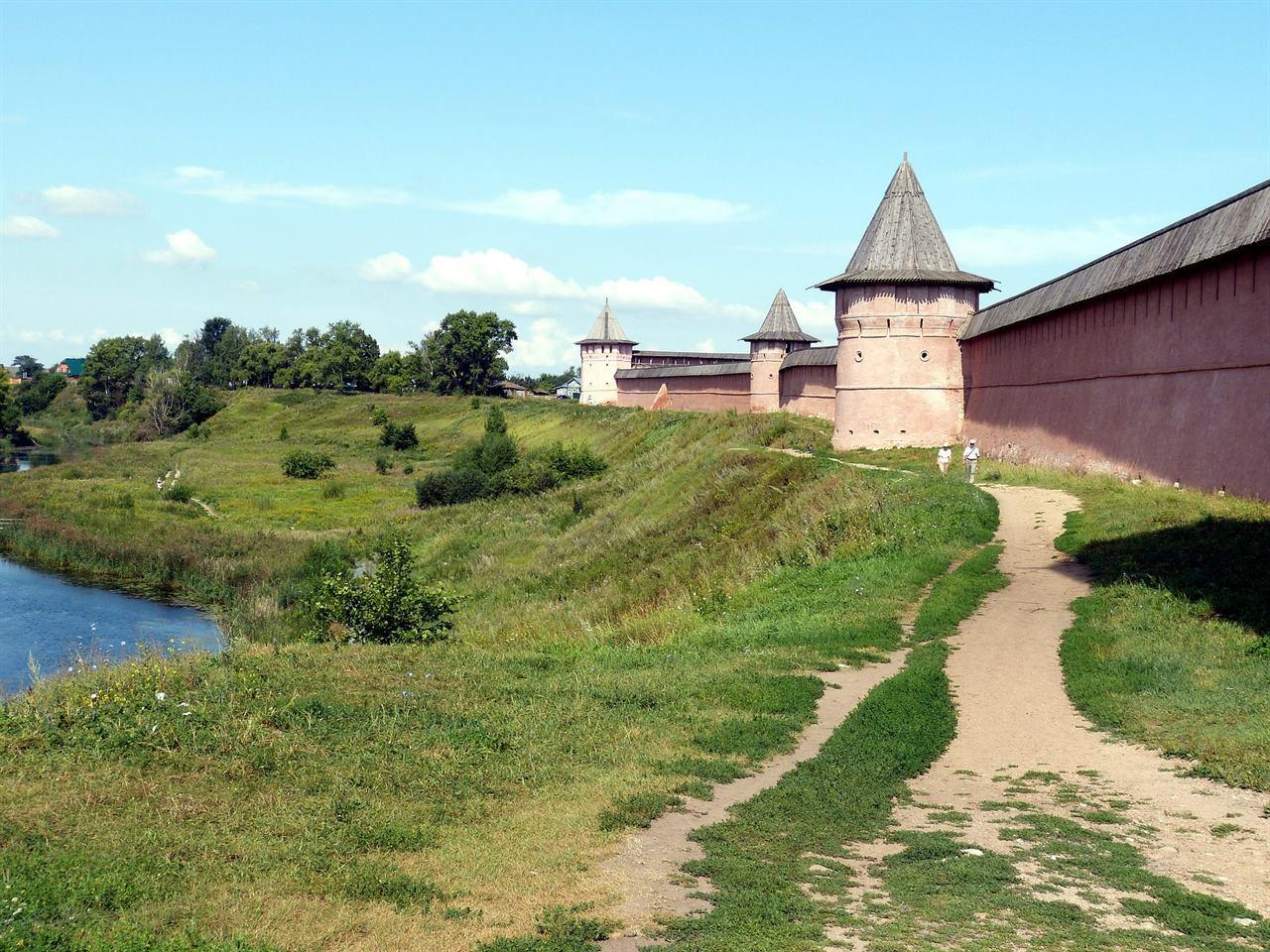Крепость в Суздале