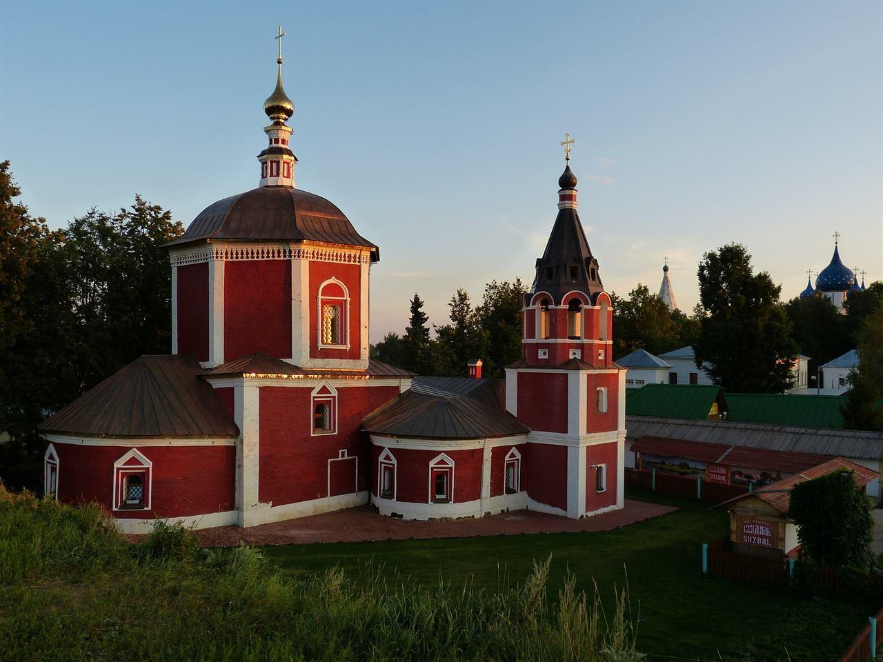 Красный монастырь Суздаль