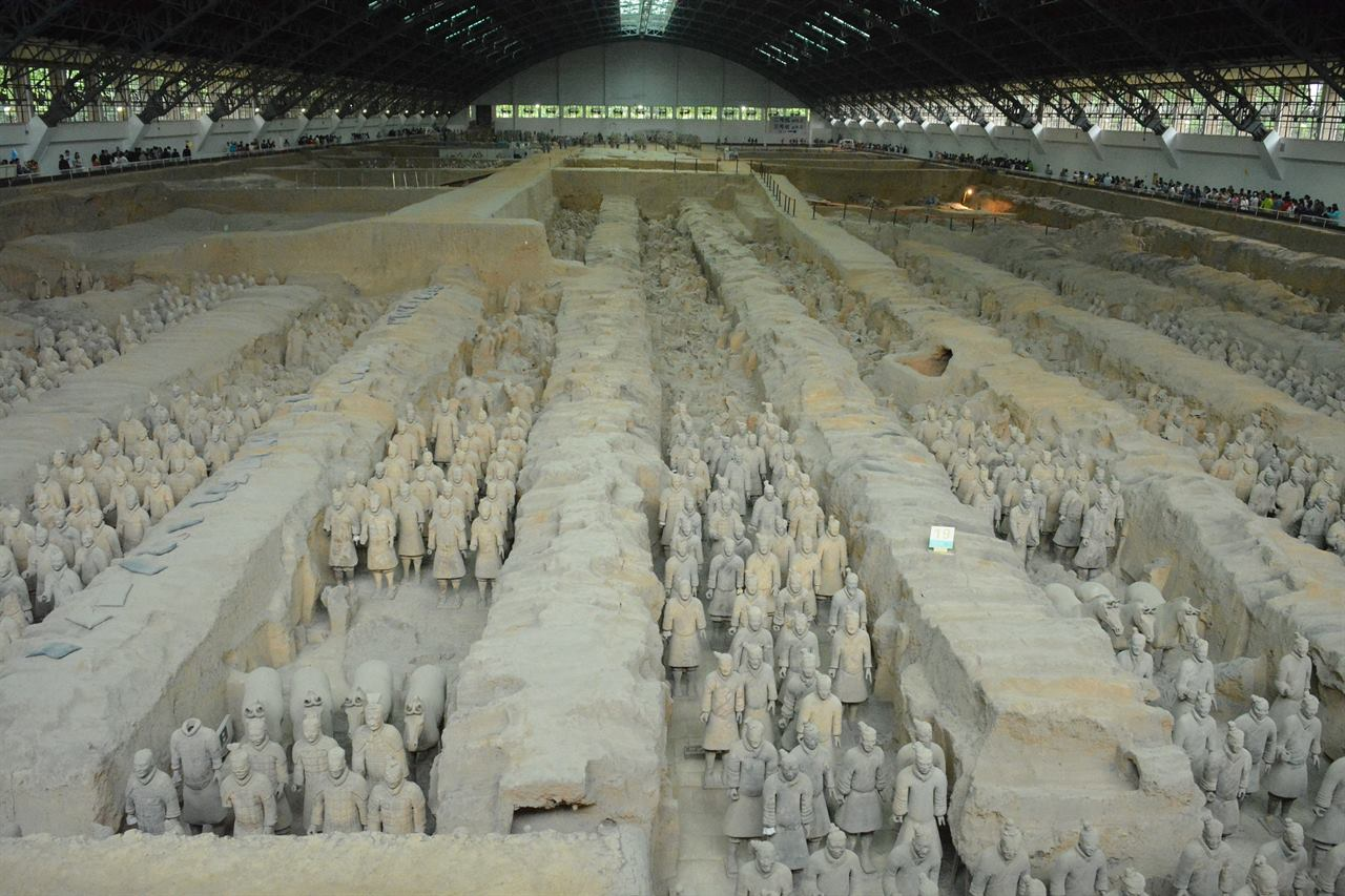 Терракотовое войско Китай