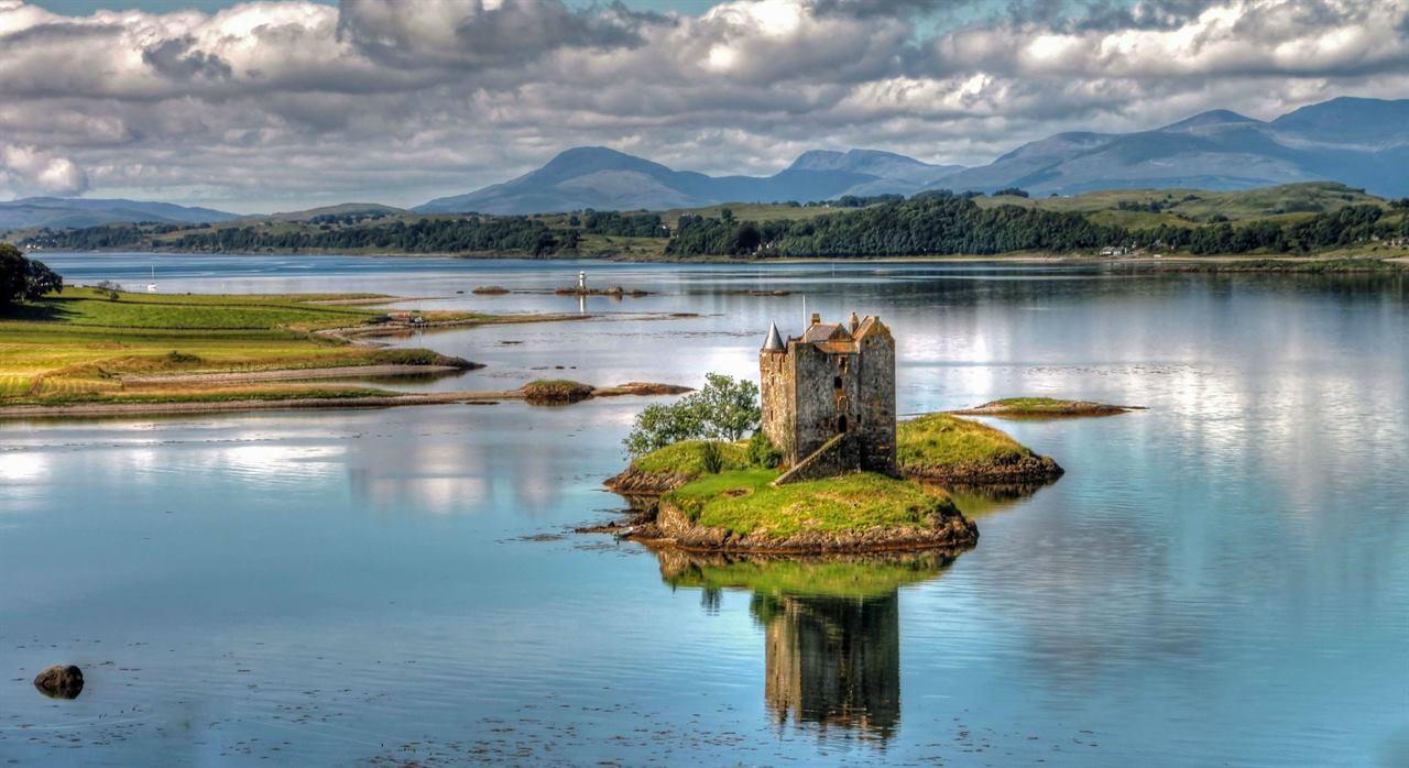 Остров Сталкер Шотландия озеро Лох