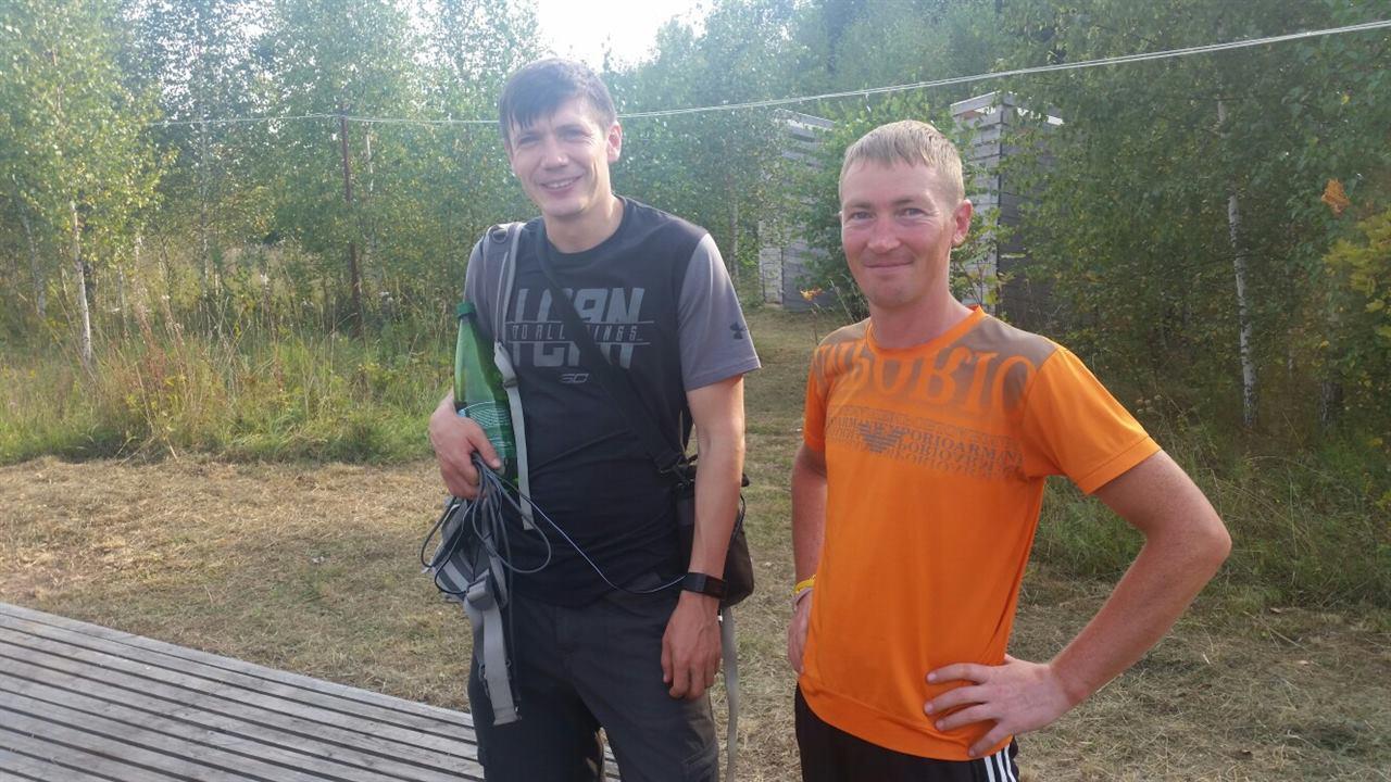 Сергей Клюкин с популярным видеоблогером Денисом Доропей