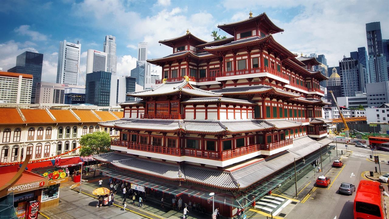 Сингапур Храм Будды