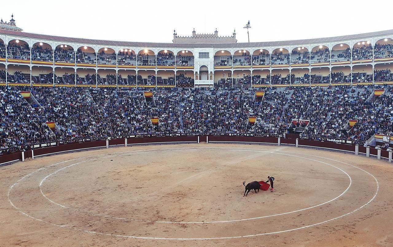 Испания Мадрид бычьи бои