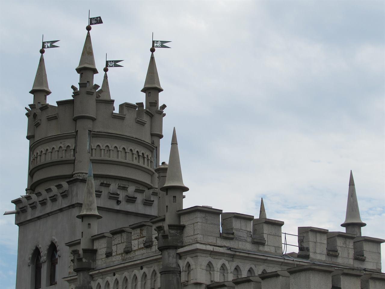 Ласточкино гнездо архитектура