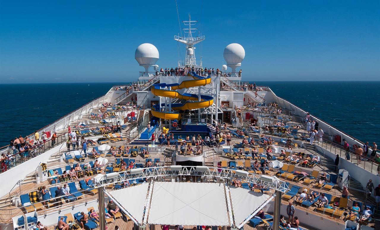 Отдых на морском лайнере во время круиза