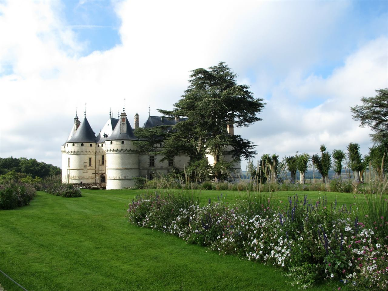 Замок Шомон Луара
