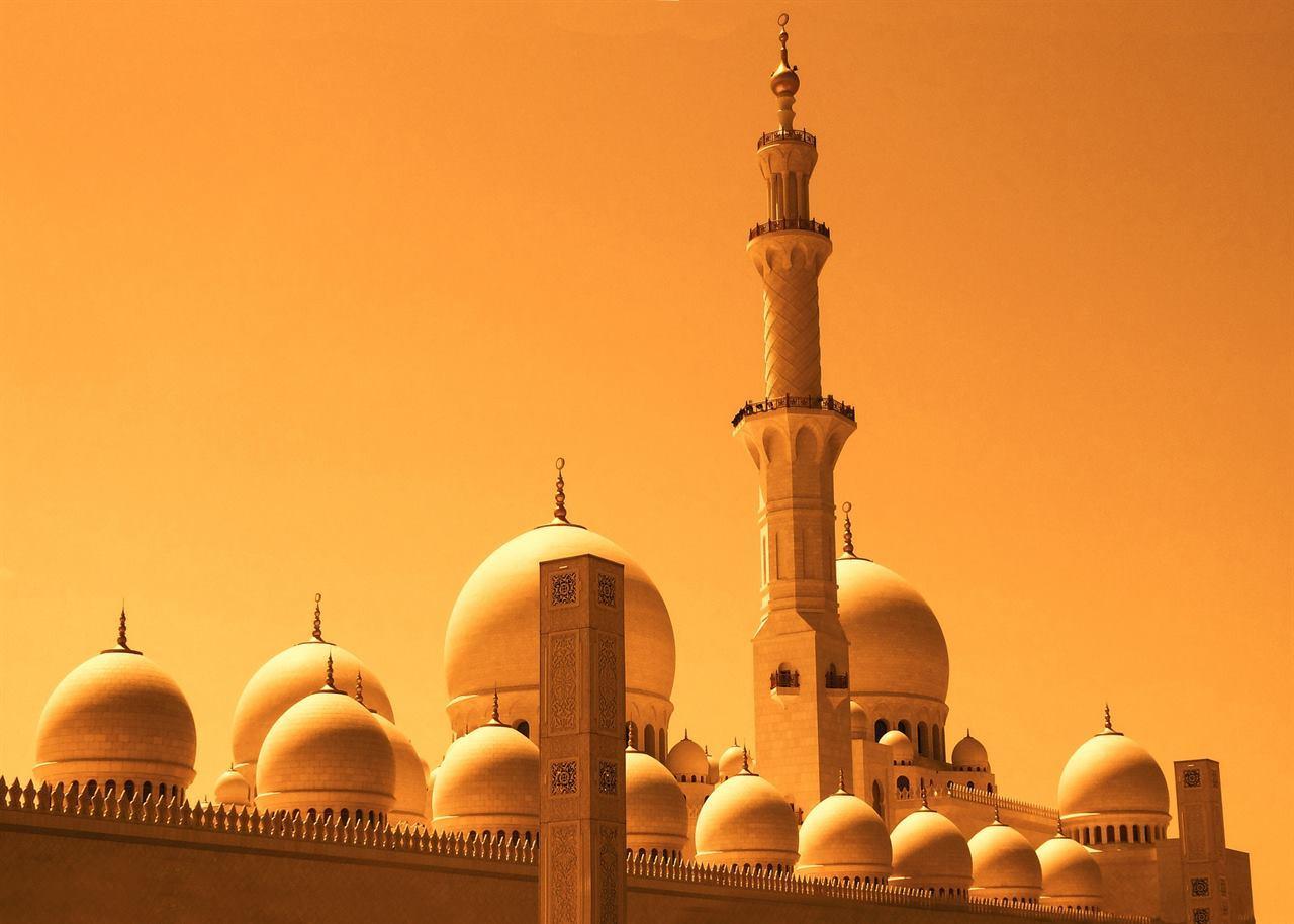 Древняя мечеть в Дубае