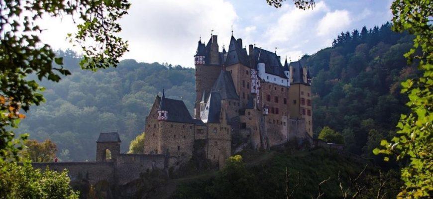 Эльц – самый известный замок Германии