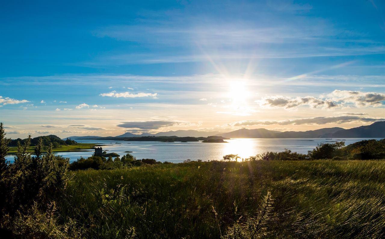 Шотландия остров Сталкер