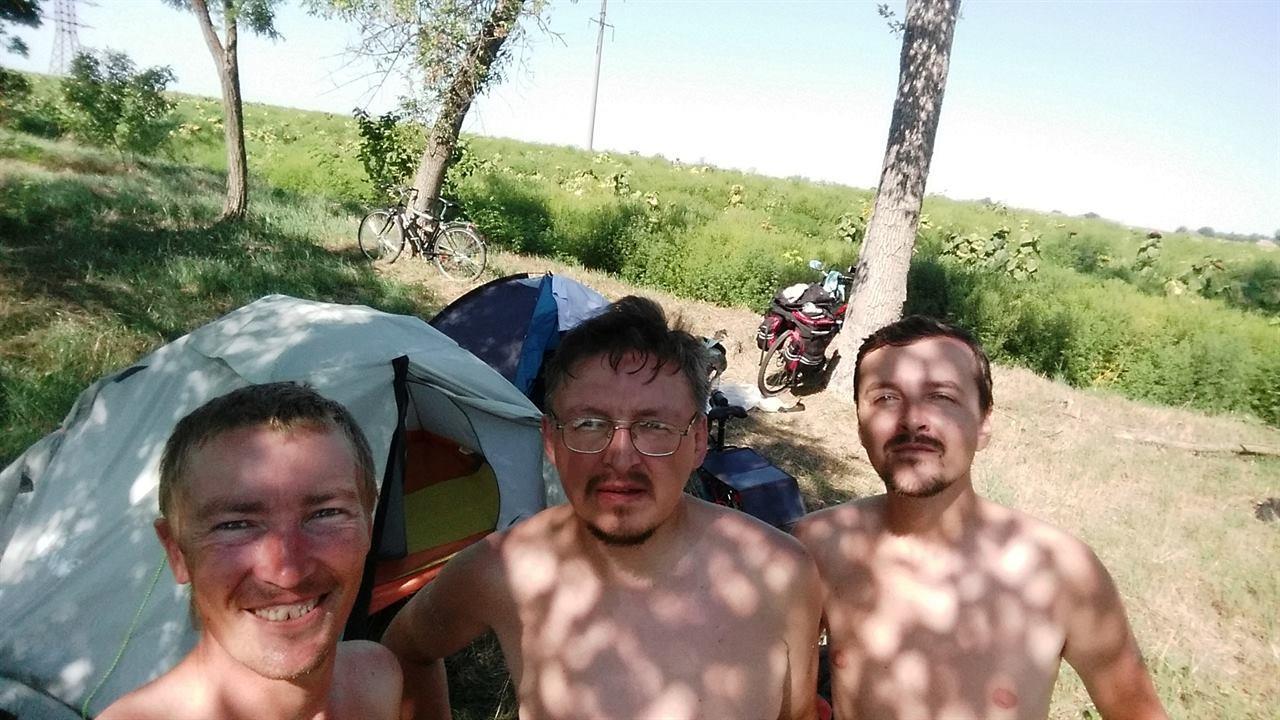 В Крыму с друзьями-путешественниками