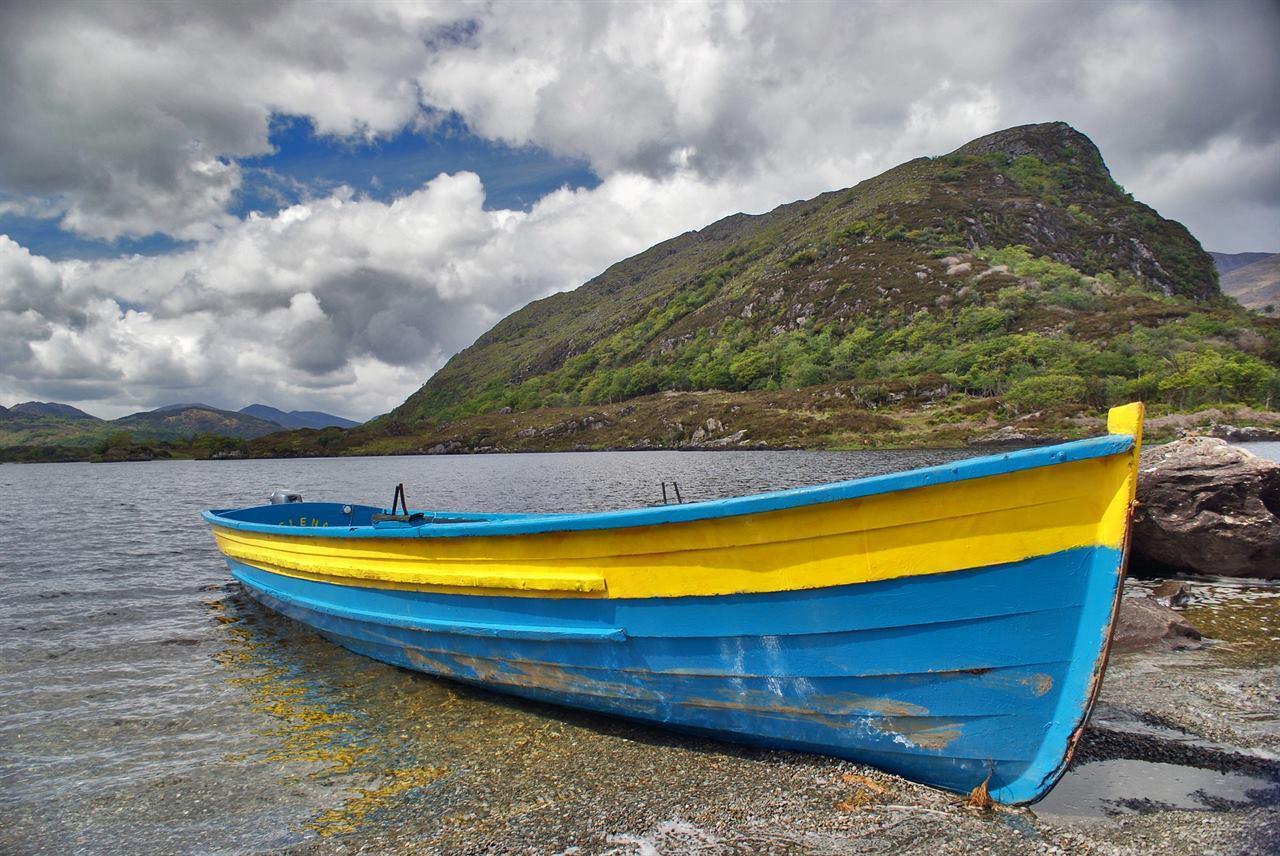 Лодка Ирландия