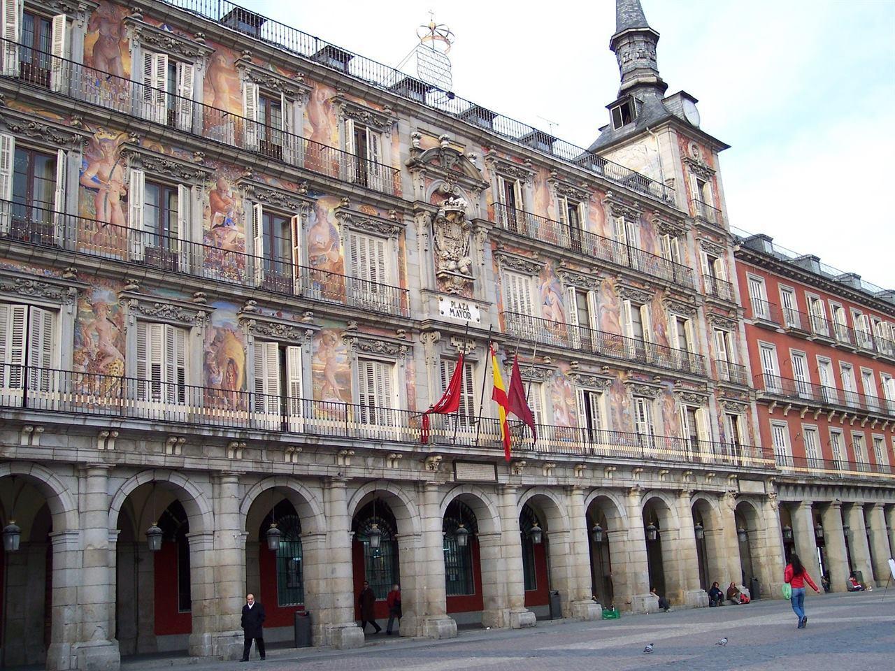 Пласа Майор Мадрид Испания