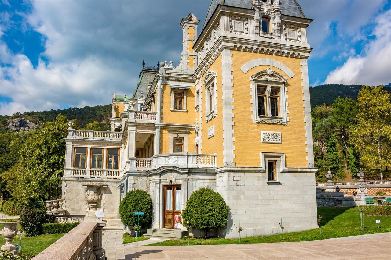 Дворец В Крыму Массандра