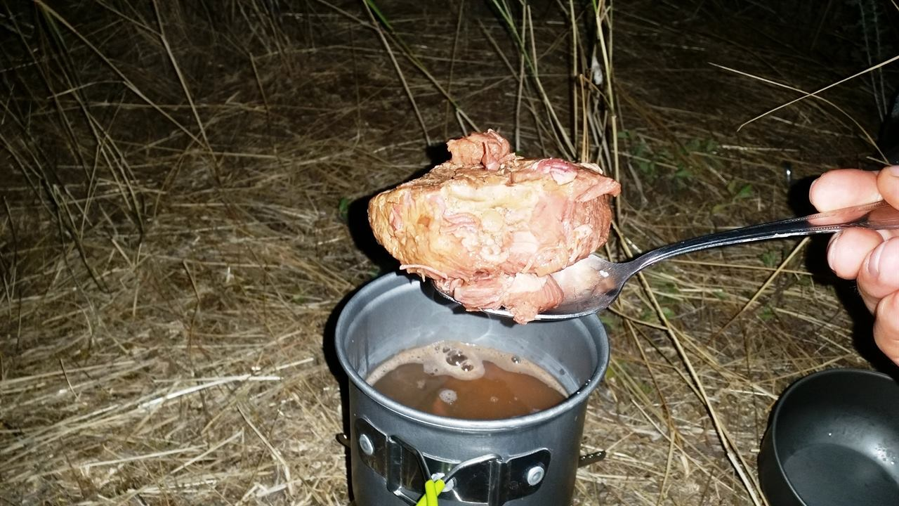 Туристический ужин в Крыму