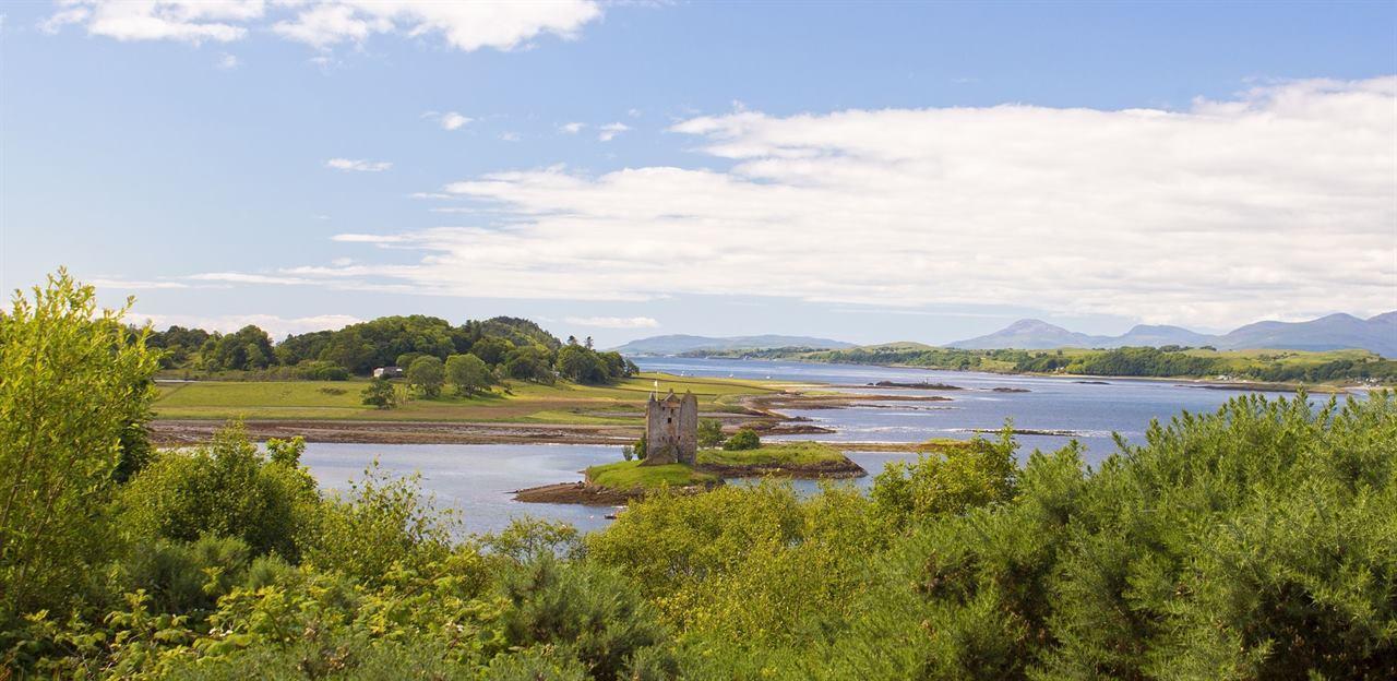 Шотландия замок Сталкер