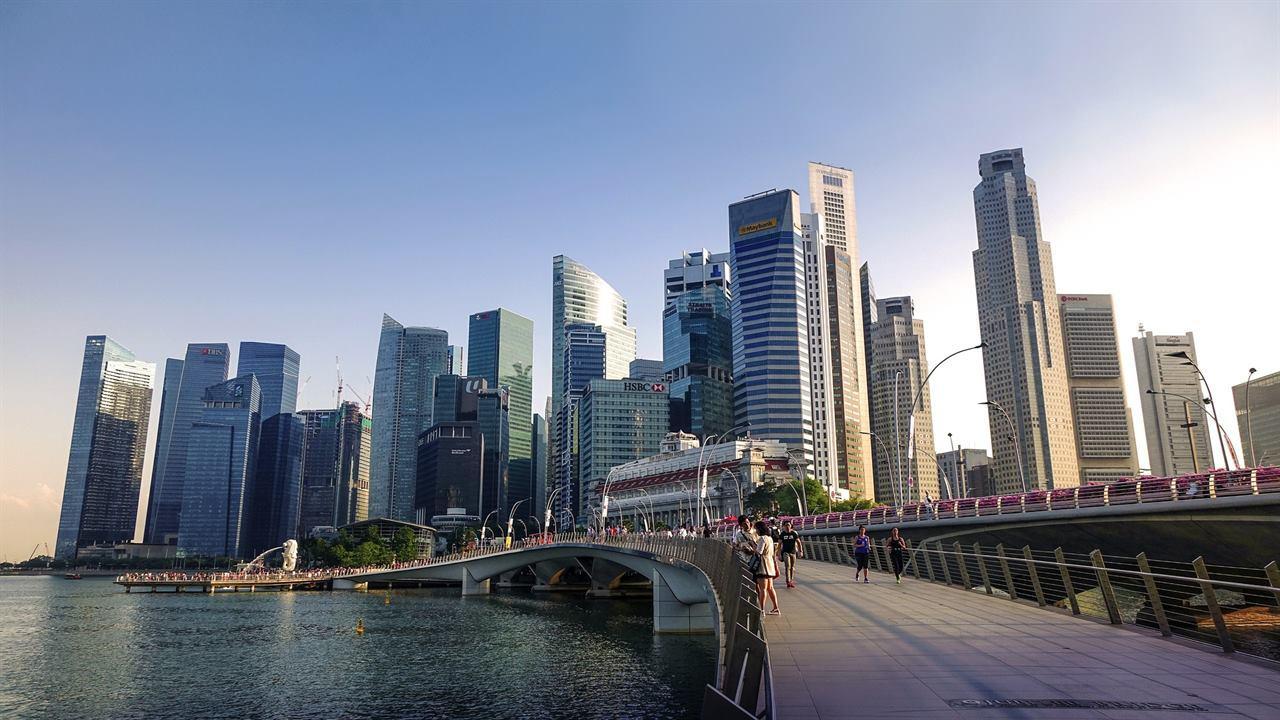 Сингапур популярный мост