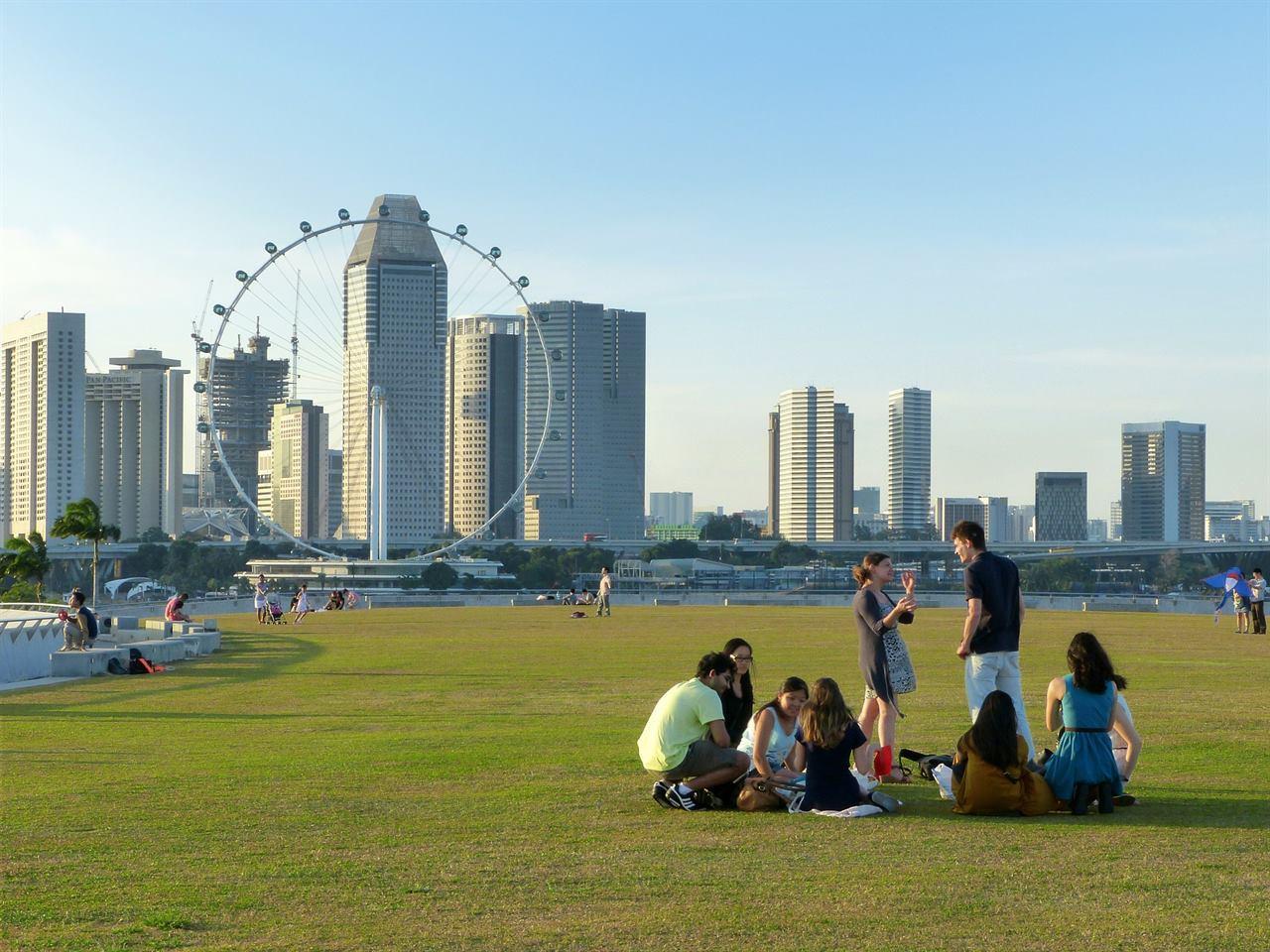 Сингапур Колесо обозрения