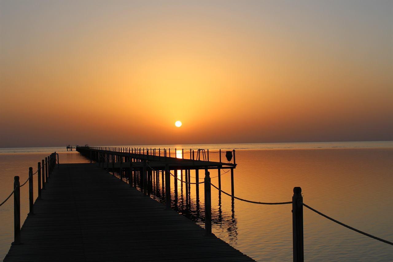 Красное море Марса-Алам Египет закат
