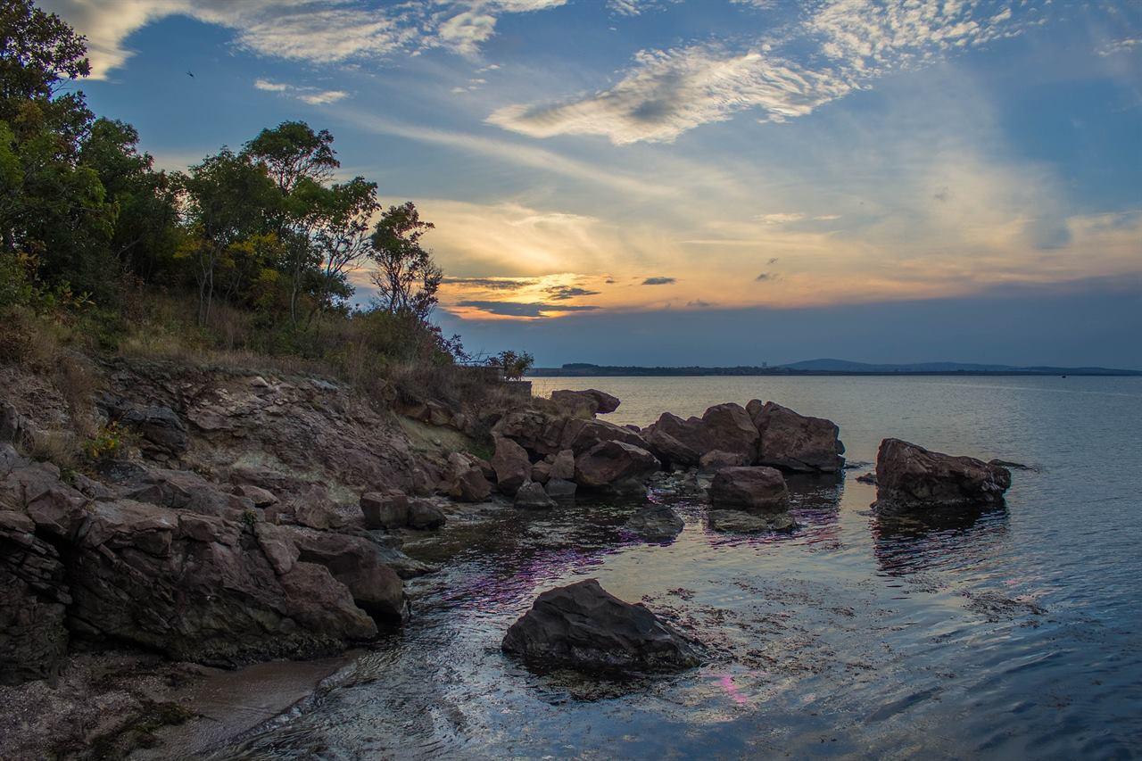 Природа берег Бургас Болгария