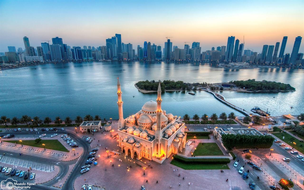 Мечеть Шарджа ОАЭ