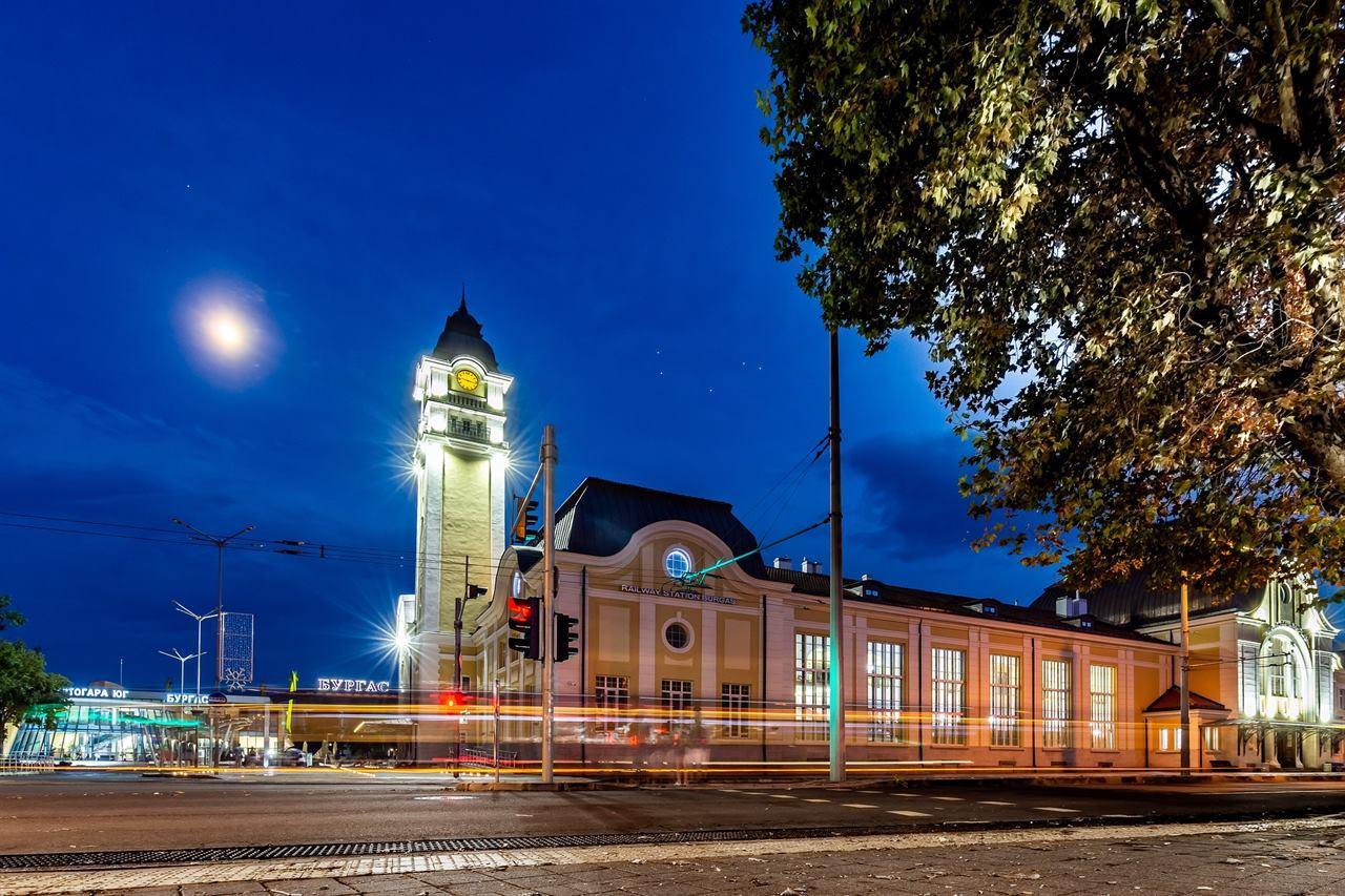 Вокзал Бургас Болгария