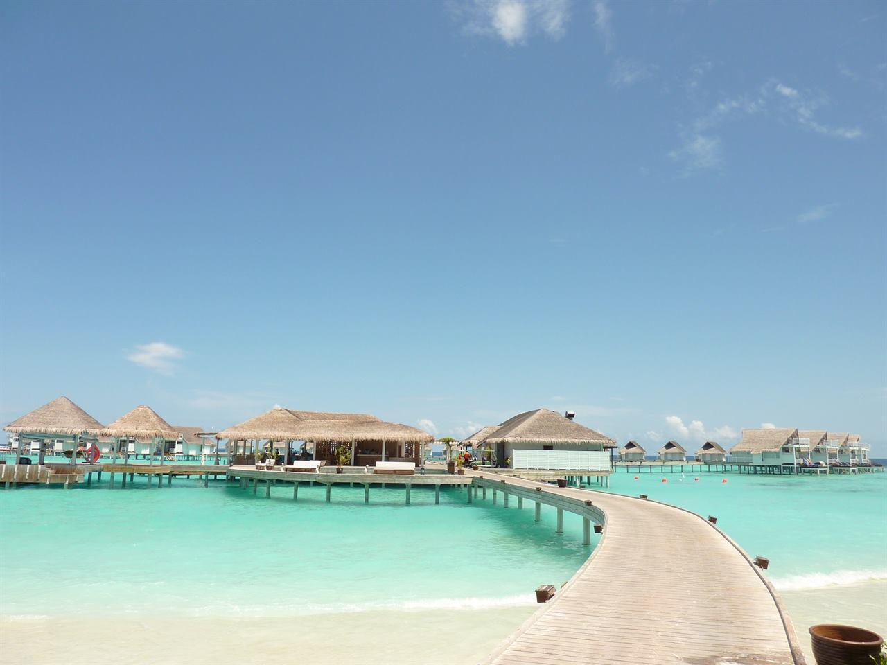 Мальдивы домики