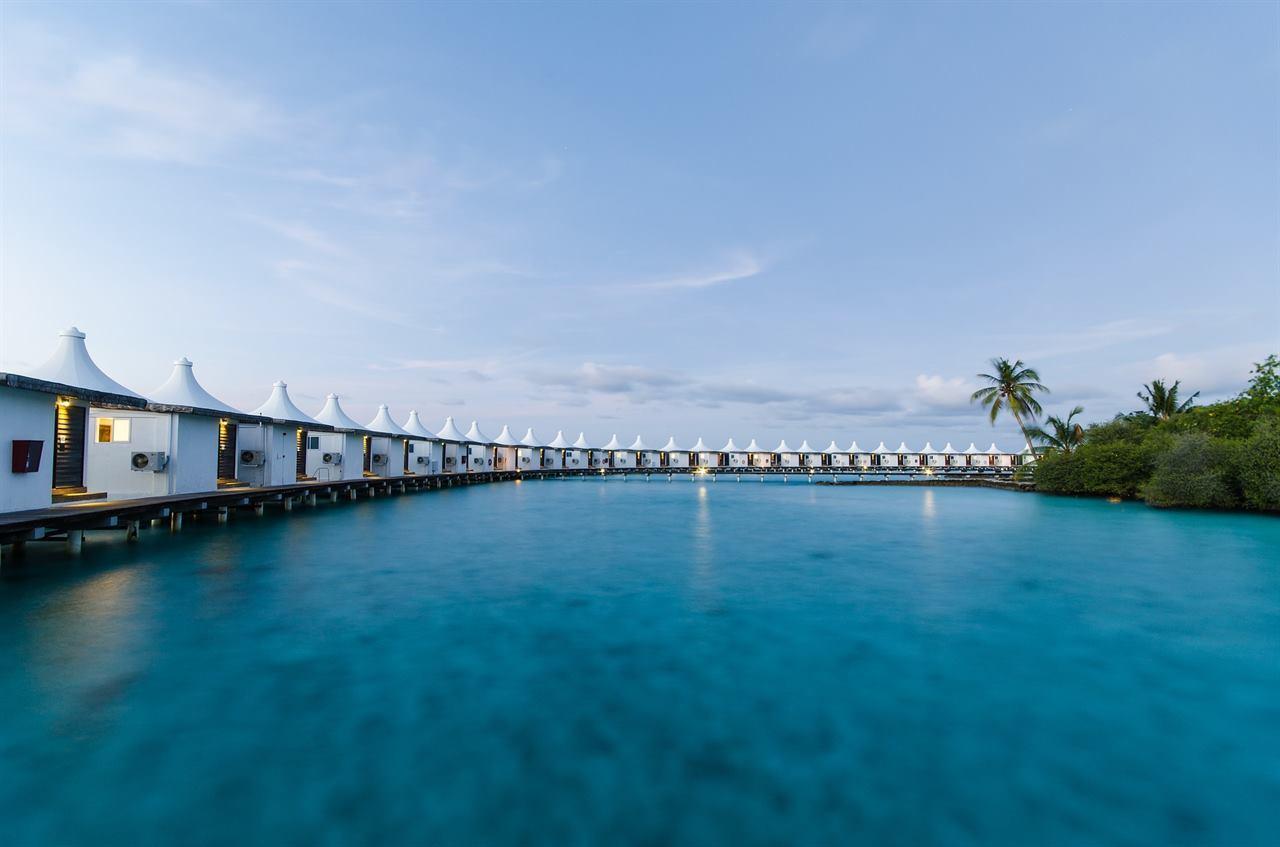 Летние домики-бунгало Мальдивы