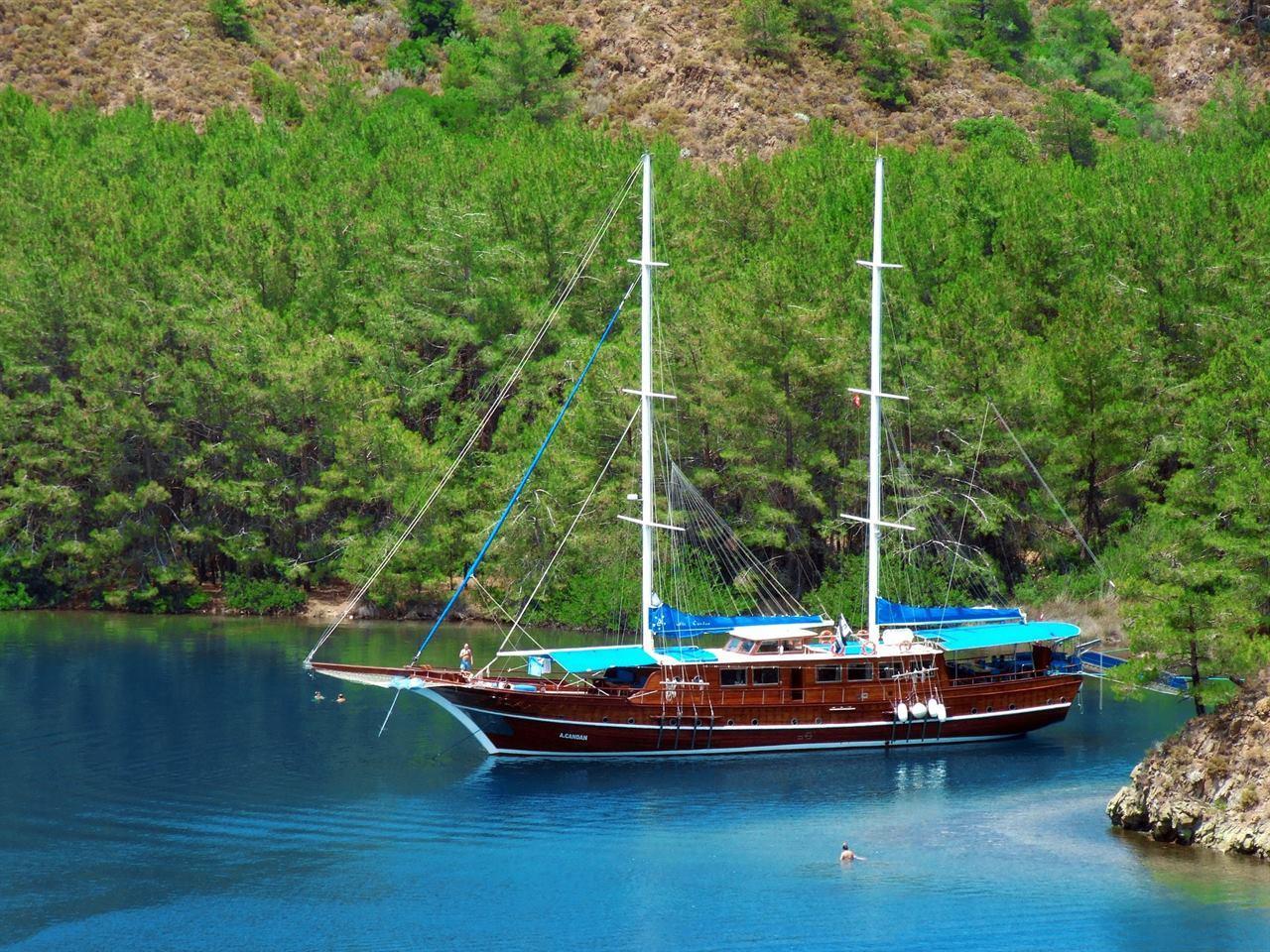 Турция Мармарис Яхта