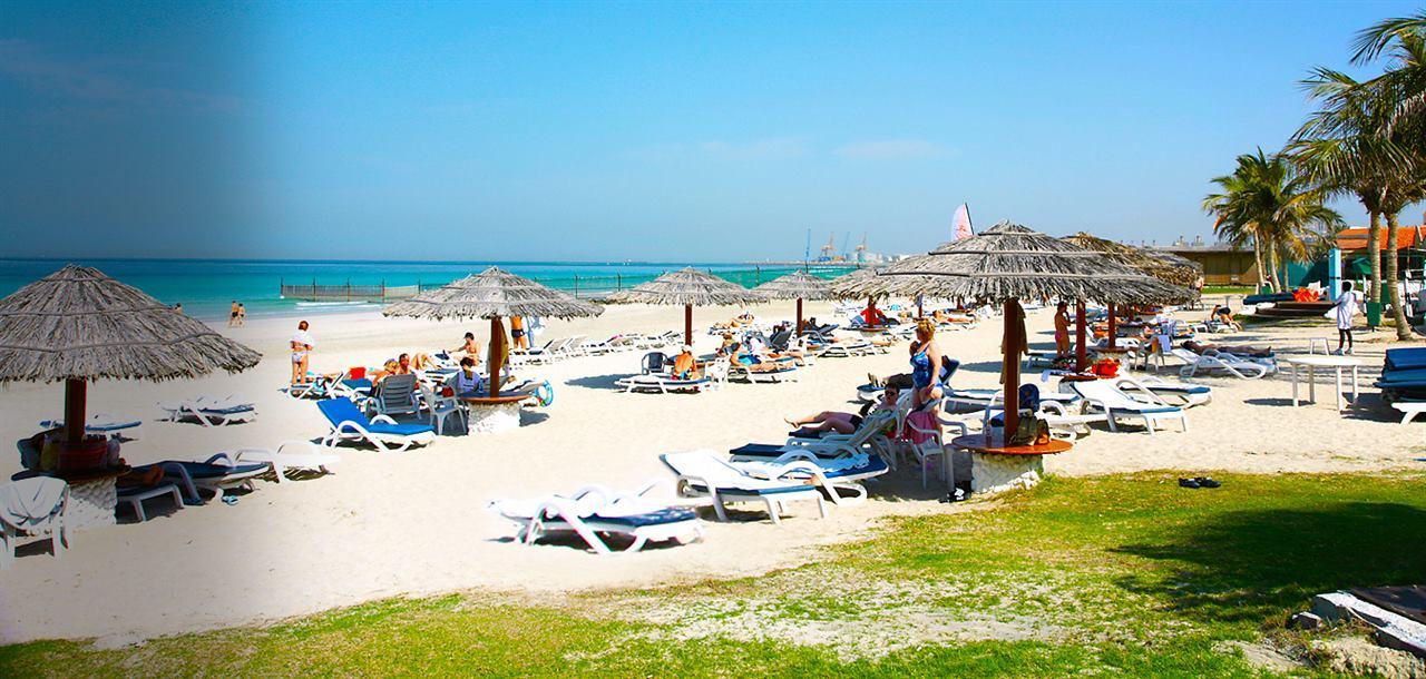 Пляжи Шарджа